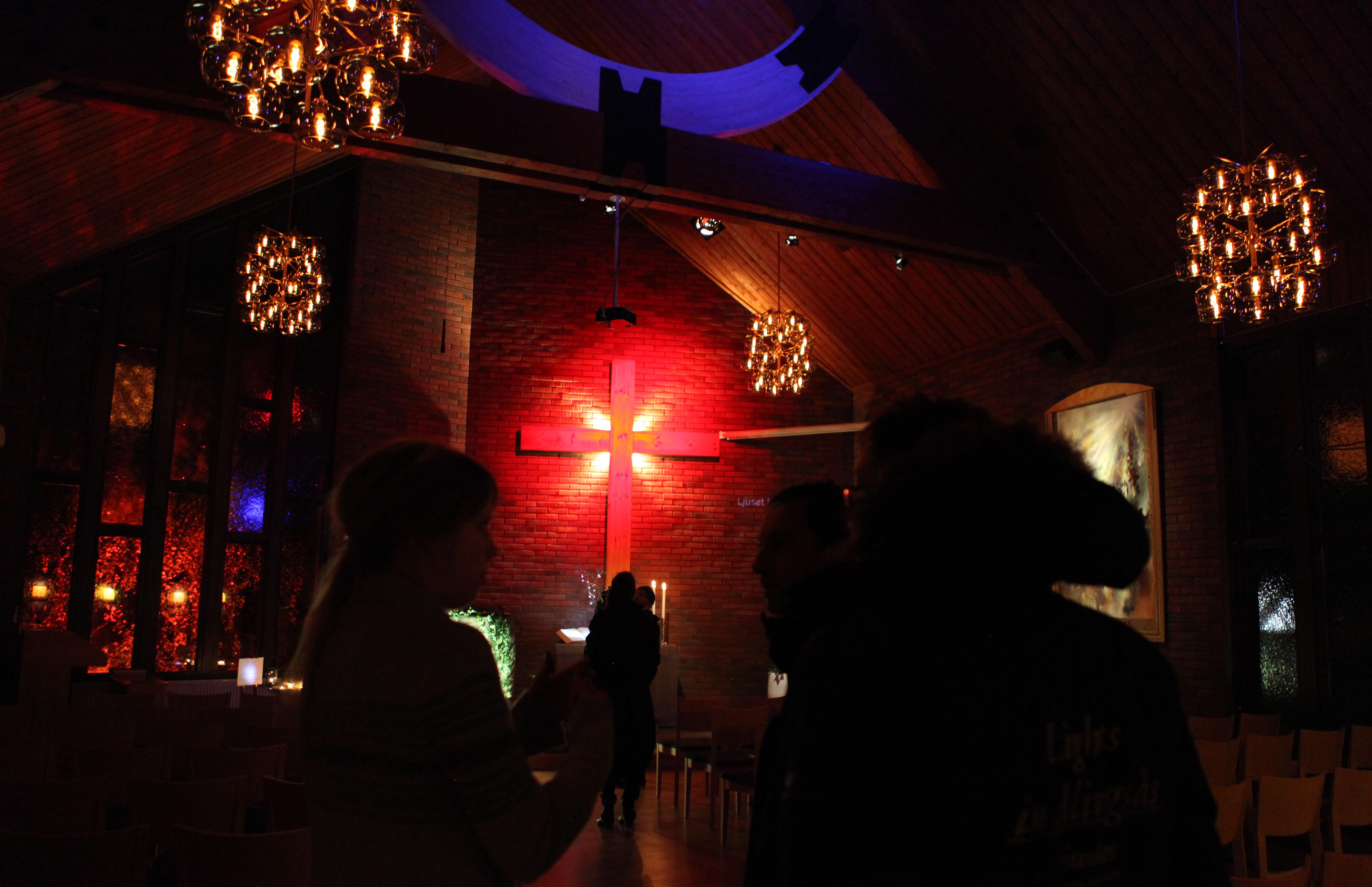 Ljussatt EFS-kyrka